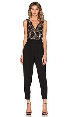 heartLoom Helene Jumpsuit in Black