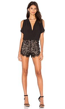 heartLoom Malena Romper in Black