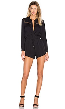 heartLoom Esme Romper in Black
