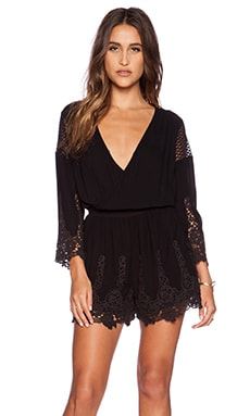 heartLoom Zuma Romper in Black