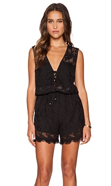 heartLoom Gracie Romper in Black