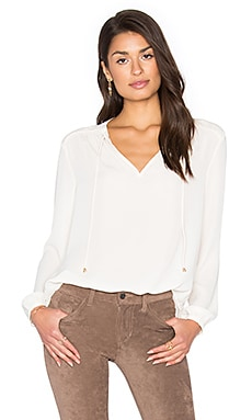 Faith Top in Ivory