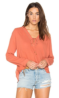 McGuire Top in Terracotta