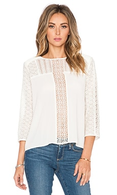 Addison Top in Ivory