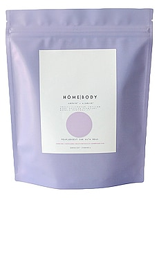 Amethyst + Alchemist Pearlescent CBD Bath Soak HOMEBODY $42