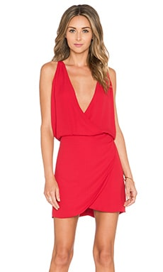 Helena Quinn Sam mini Dress in Red