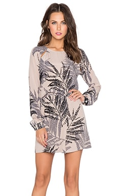Helena Quinn Katie Mini Dress in Palm Print