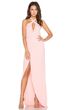 Mariella Maxi Dress in Blush