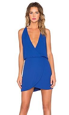 Helena Quinn Sam Mini Dress in Cobalt