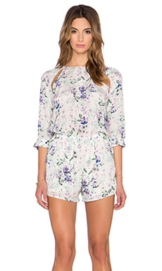 Helena Quinn Katie Romper in Soft Floral Print