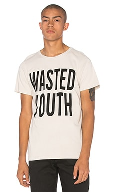Herman Wasted Youth SST Washed Tee in Washed Natural