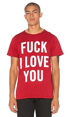 T-SHIRT FUCK I LOVE YOU