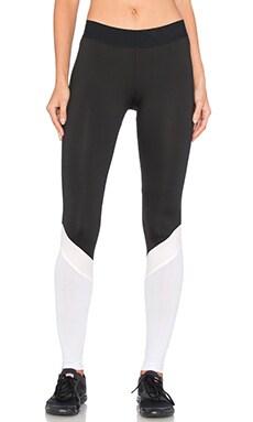 Heroine Sport Cycling Pant in Black Blush & White