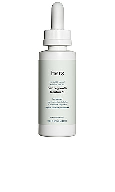 2% Minoxidil Topical Solution Serum hers $16