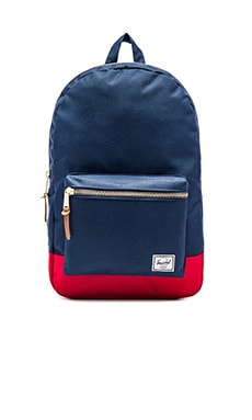 Settlement Backpack in Red/Navy