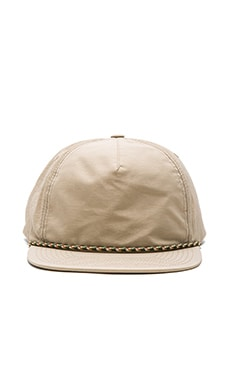 Herschel Supply Co. Cusak in Khaki Wrinkle Nylon