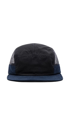 Herschel Supply Co. Glendale Cap in Black & Dark Navy & Black Mesh