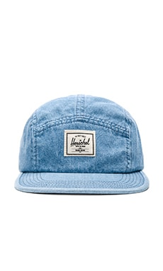 Herschel Supply Co. Glendale Cap in Faded Denim