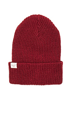 Herschel Supply Co. 2 Pack Quartz Beanie in Black & Windsor Wine