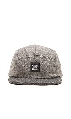 Herschel Supply Co. Glendale in Grey Wool & Charcoal Wool