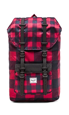 Herschel Supply Co. Little America Backpack in Buffalo Plaid