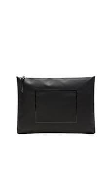 Herschel Supply Co. The Studio Collection Folio XL in Tarpaulin Black & Black