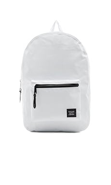 Herschel Supply Co. The Studio Collection Settlement in White & Black