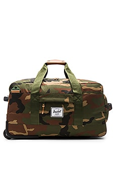 Herschel Supply Co. Wheelie Outfitter in Woodland Camo