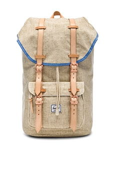 Herschel Supply Co. Hemp Collection Little America in Natural