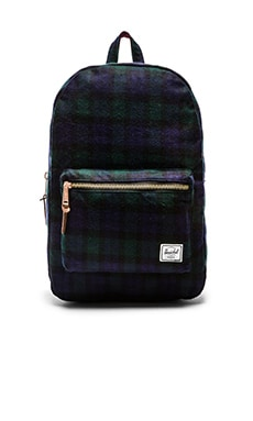 Herschel Supply Co. Select Series Settlement in Black Watch Plaid