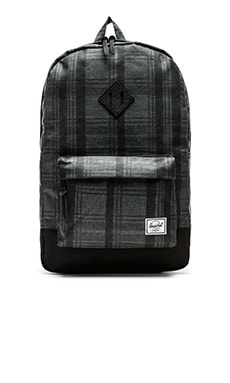 Herschel Supply Co. Heritage in Plaid & Black