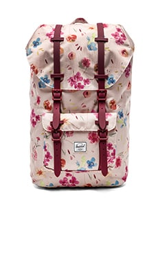 Herschel Supply Co. Little America in Ruby Khaki & Windsor Wine