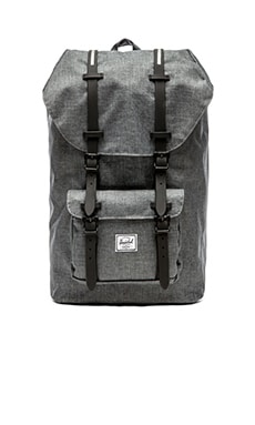 Herschel Supply Co. Little America in Charcoal Crosshatch & Black