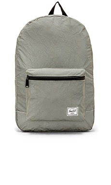 Herschel Supply Co. Day / Night Collection Packable Daypack in Silver Reflective