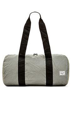 Herschel Supply Co. Day / Night Collection Packable Duffle in Silver Reflective