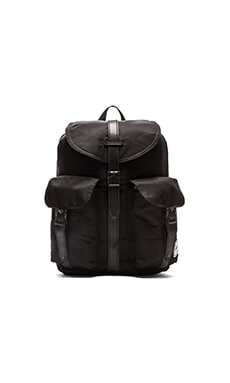 Herschel Supply Co. Nylon Collection Dawson in Black