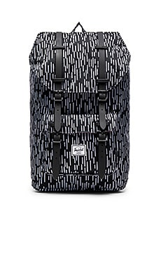 Herschel Supply Co. Little America in Black & White Rain Camo