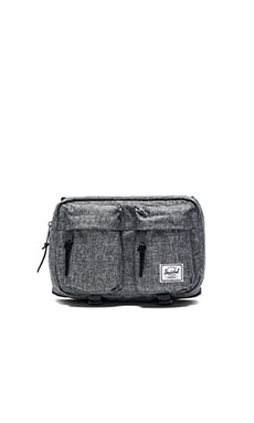 Herschel Supply Co. Eighteen in Raven Crosshatch
