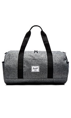 Herschel Supply Co. Sutton in Raven Crosshatch