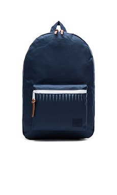 Herschel Supply Co. Settlement in Navy & Captain's Blue Geo Embroidery