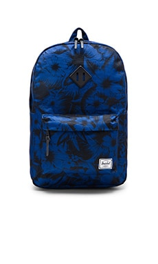 Herschel Supply Co. Heritage in Jungle Floral Blue