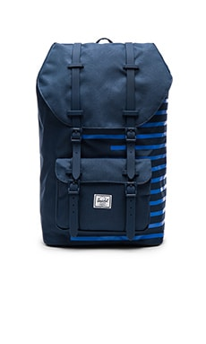 Herschel Supply Co. Little America in Navy & Cobalt Stripes