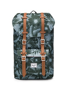 Herschel Supply Co. Little America in Jungle Floral Green
