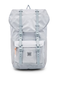 Herschel Supply Co. Studio Collection Little America in Metal & White & Metal Mesh