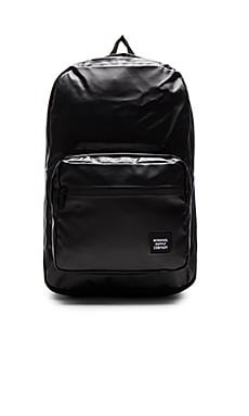 Herschel Supply Co. Studio Collection Pop Quiz in Black & Black Poly Coat