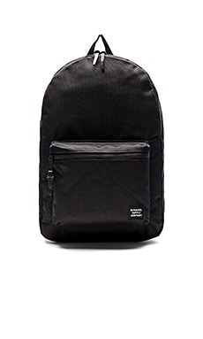 Herschel Supply Co. Aspect Settlement in Black & Black Rubber