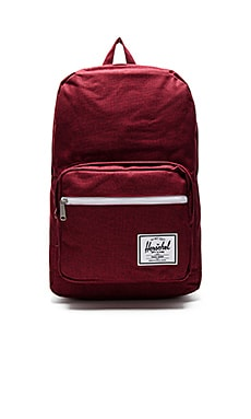Herschel Supply Co. Pop Quiz in Winetasting Crosshatch