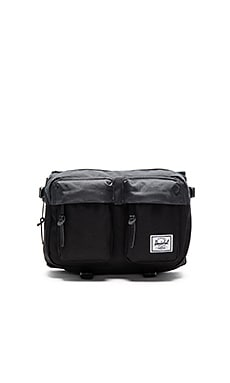 Herschel Supply Co. Eighteen in Black & Dark Shadow