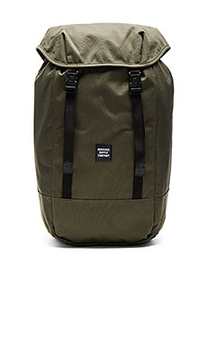 Herschel Supply Co. Aspect Iona in Forest Night & Black
