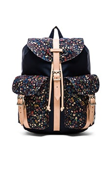 Herschel Supply Co. x Liberty of London Dawson in Navy Donna